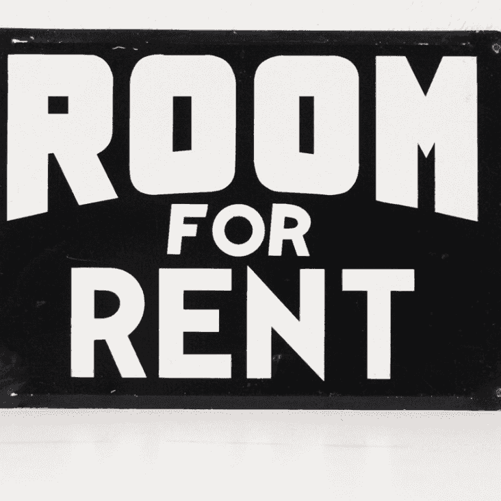 Do you have a room to rent in town?