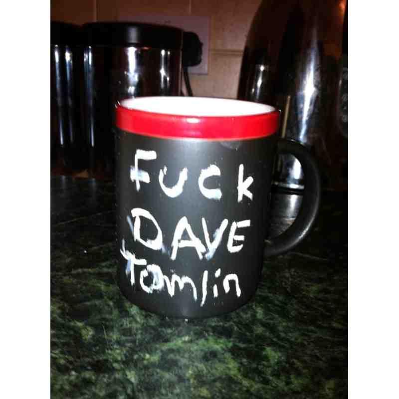 The Fuck Dave Tomlin Mug