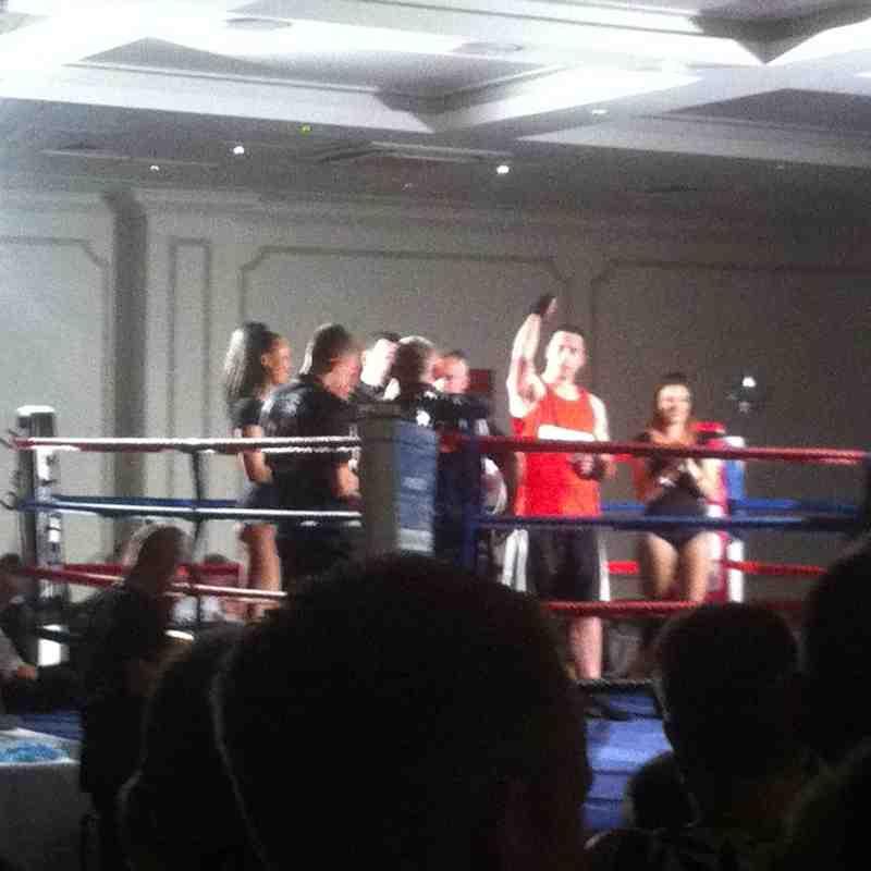 Sutton's White Collar Boxing