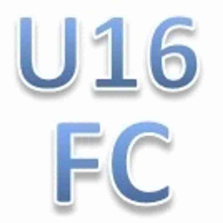 U16 FC - triple cup winners!!