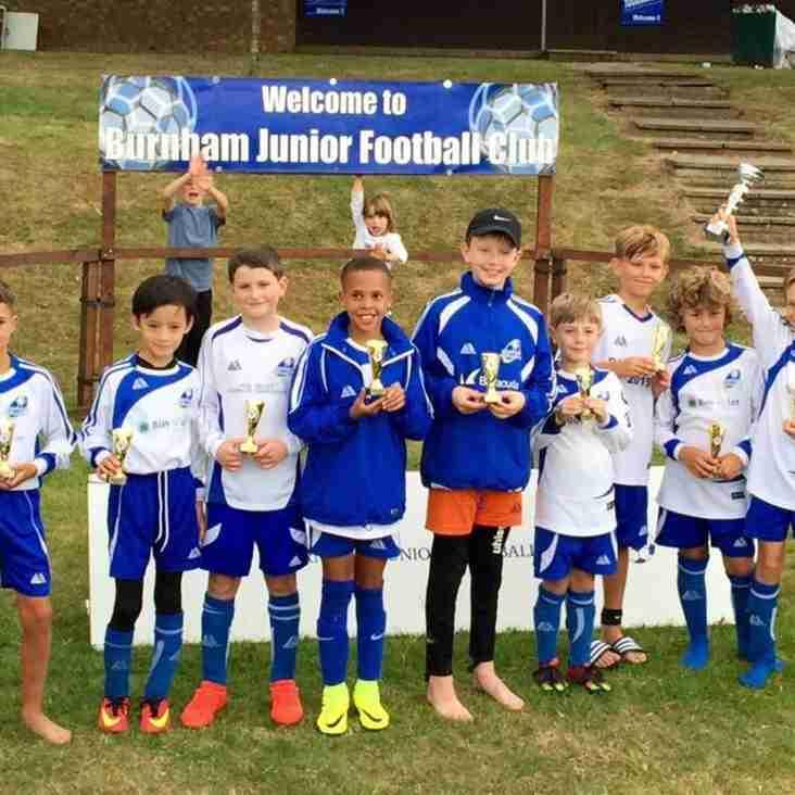 U10 Rangers win Burnham tournament