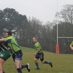 2nds v Lymm 4's 07 Jan 2017 - Photos by Hannah McEnaney