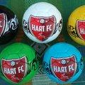 Hart FC New Footballs