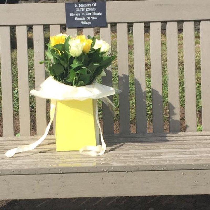 Glyn Jones bench dedication Saturday 23/09/17