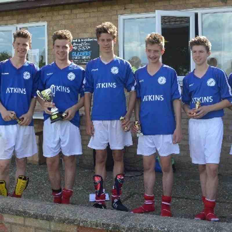 U15s win Alconbury (& come 3rd too)