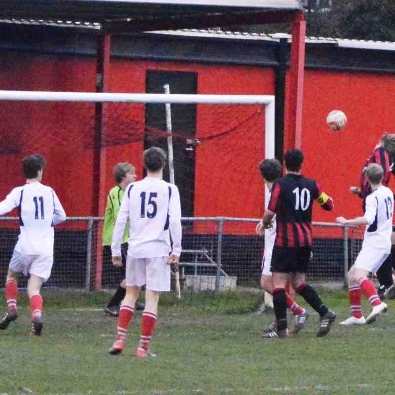Lights, camera, action: U16 friendly at Saffron Walden