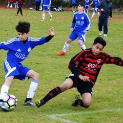 U14 Blues 5 Histon 0 in the cup