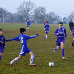 U14 Blues in Cup Caning