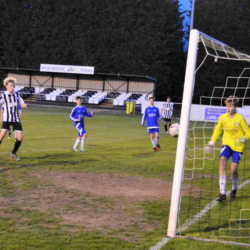 U14 Blues in Floodlit Title Decider