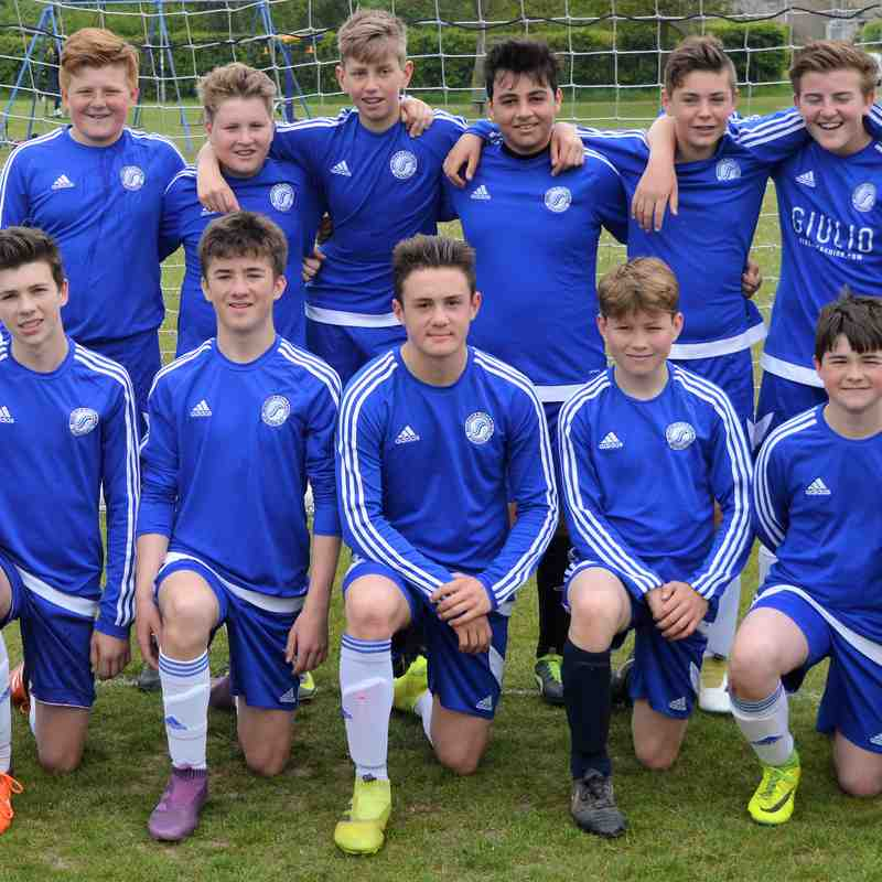 Champions: U14 Whites win the 9v9 League