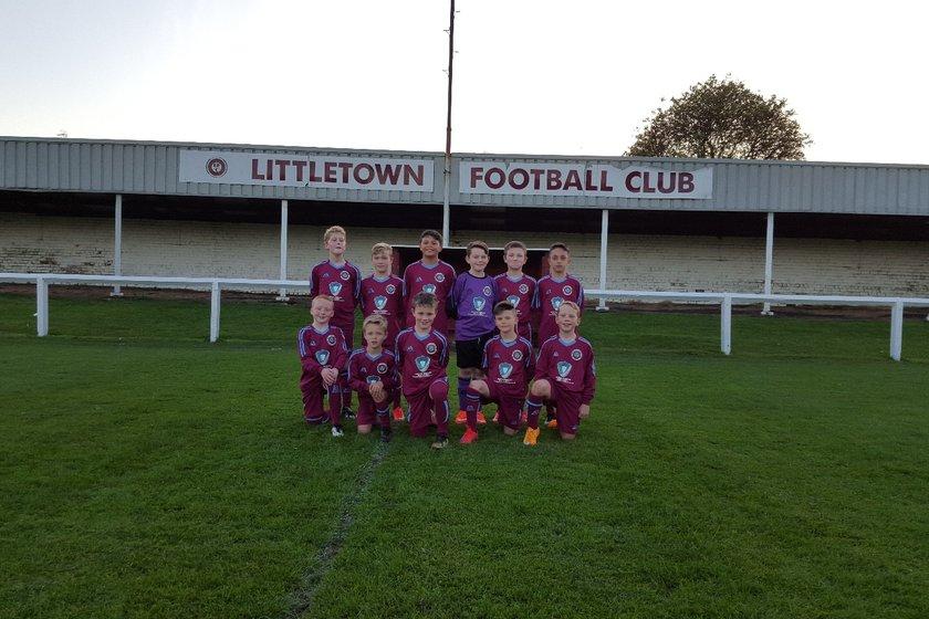 Ossett Town Juniors Thunder 2 - 2 Littletown Football Club
