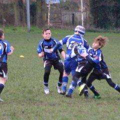 Under 10's away to Lock Lane 11/03/17