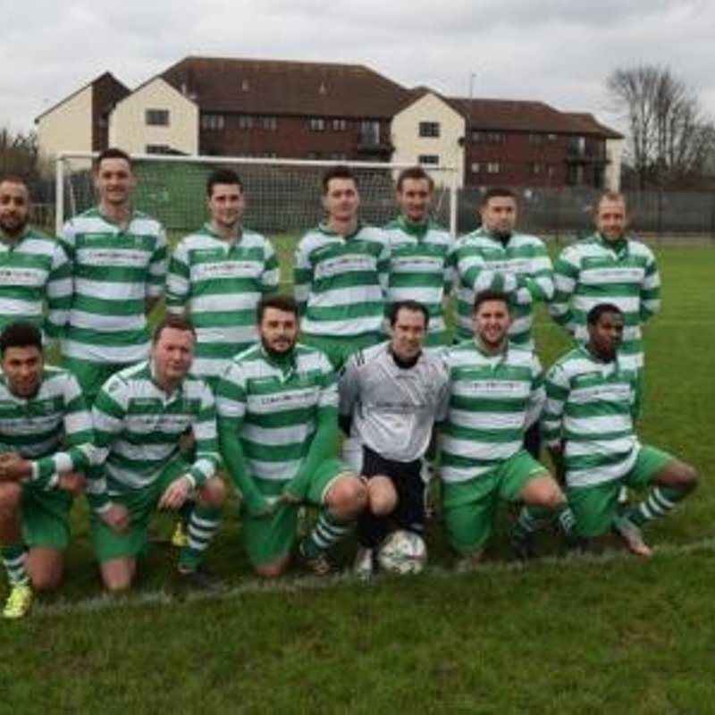 Waltham Abbey A beat New River 1 - 2