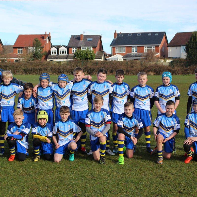 Under 12's Golds beat Wigan St Judes Maroons 4 - 10
