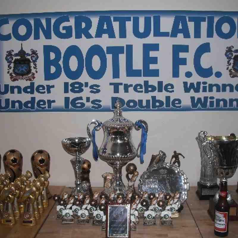 Bootle Under 18 Season 2012/13