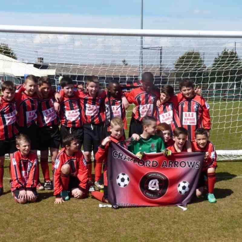 bexley cup  winners u11 2013