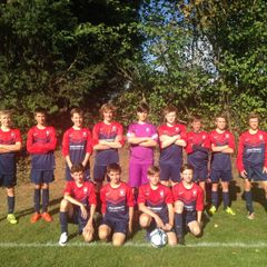 U14s boys in the PYL cup round