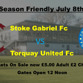 1st team Pre Season Friendly