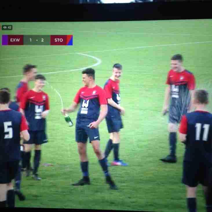 SGFC Under 18s League Champions.....!!!!