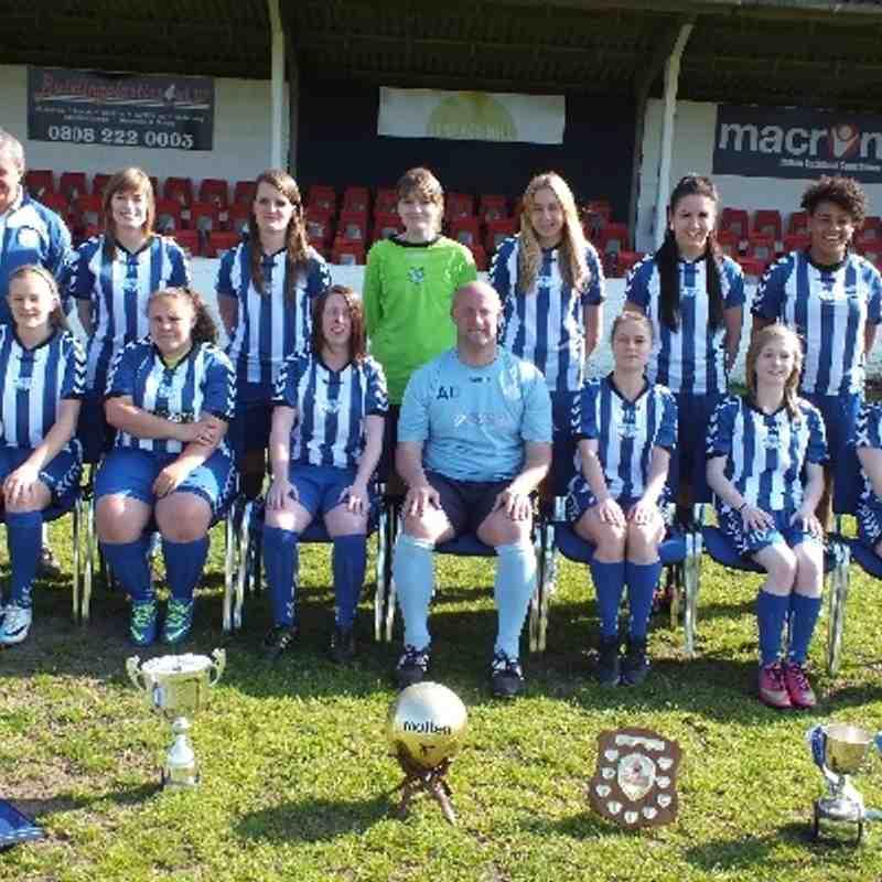 Herne Bay Ladies Team Photo