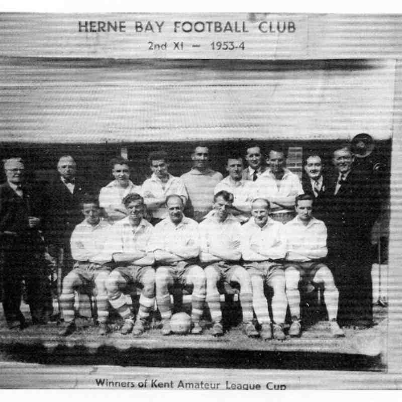 Herne Bay Archive Team Photos 1890 to 1954