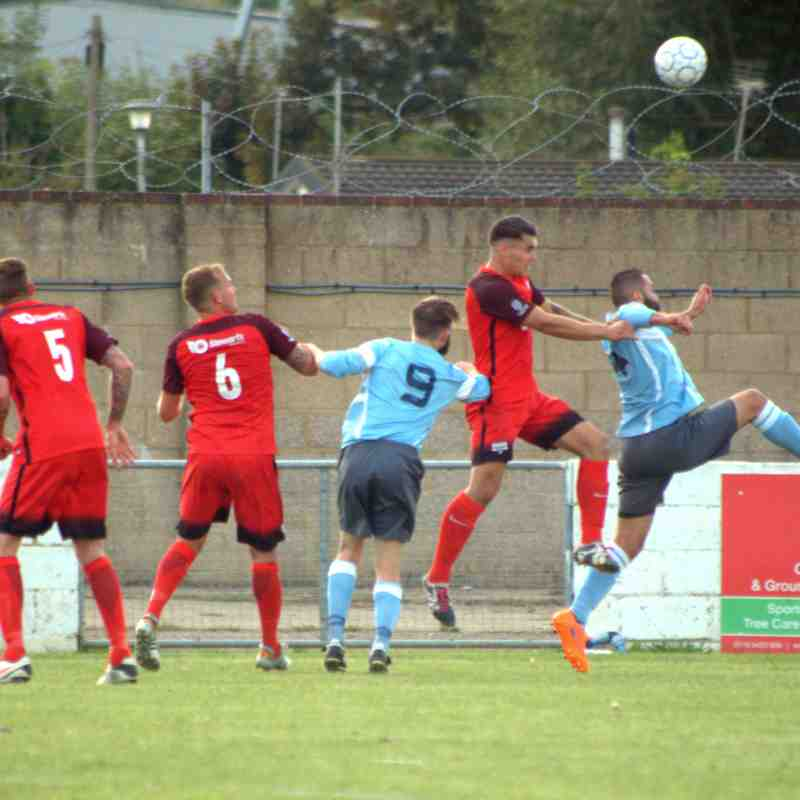 Woodley Utd v Binfield