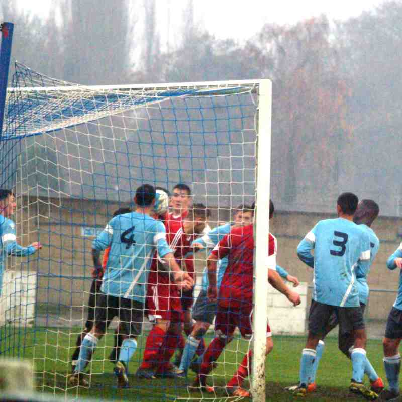 Woodley Utd v Brimscombe
