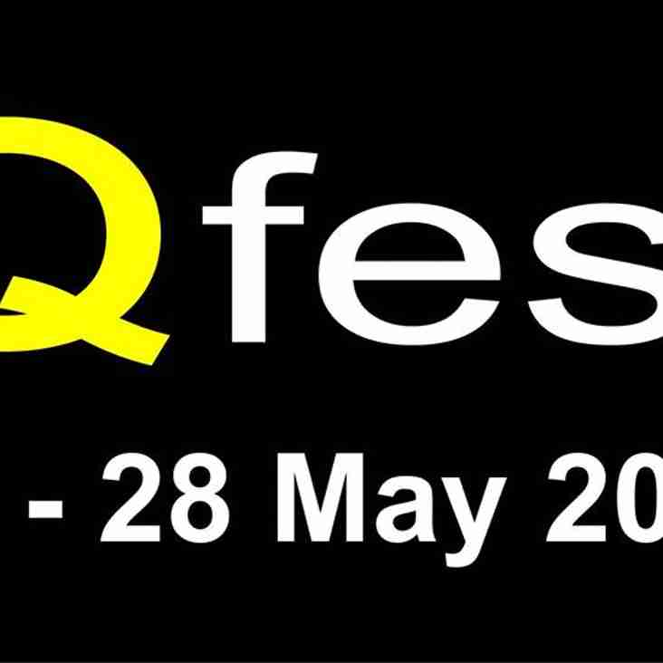 Q Fest - 27th & 28th May - Click this link for the 'line up' for this years FREE weekend of live bands!