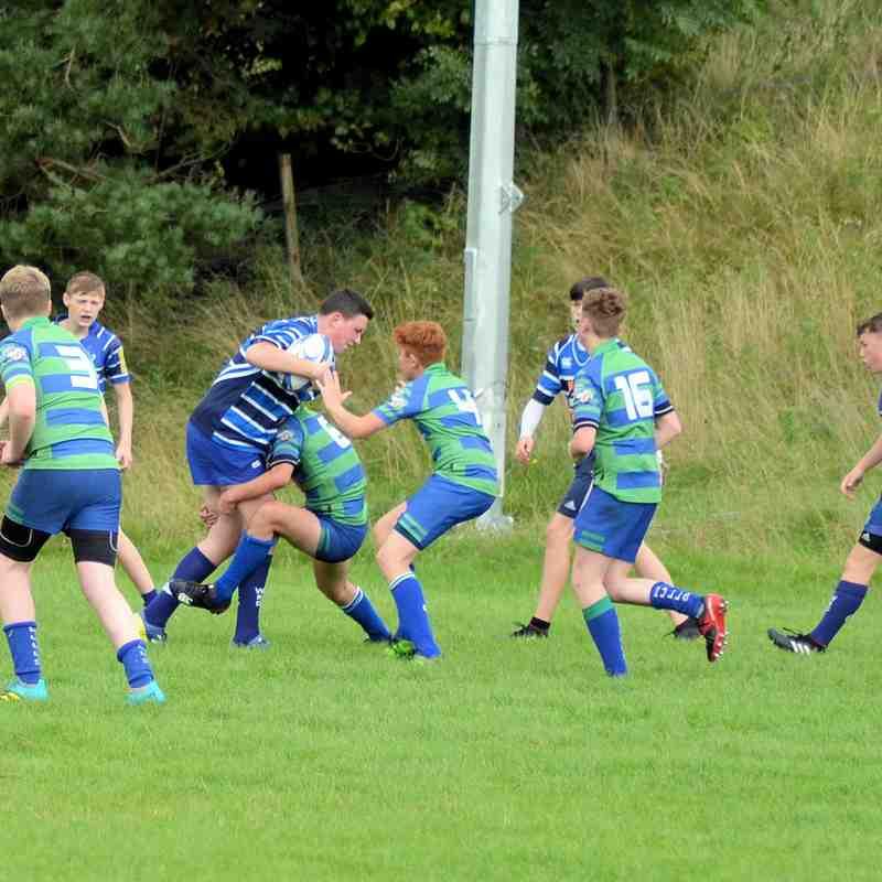 U15 Good pre-season game at Whitecraigs
