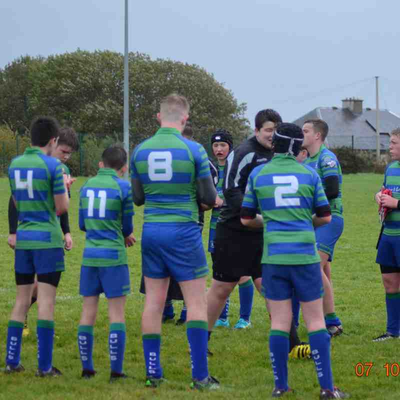 U15 host Highland on a cold and wet October afternoon