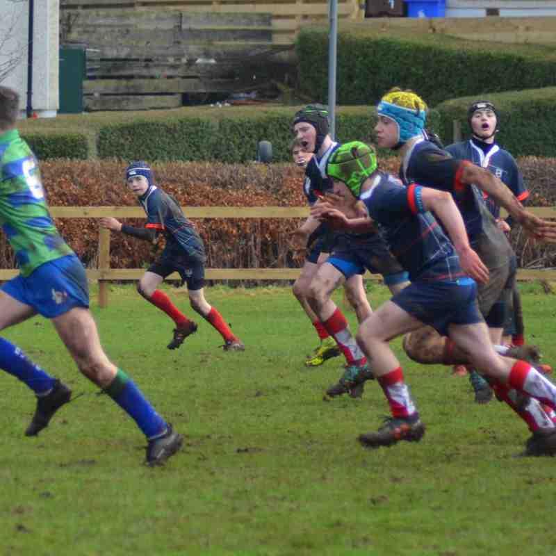 Nice muddy friendly at Strathendrick to start 2019