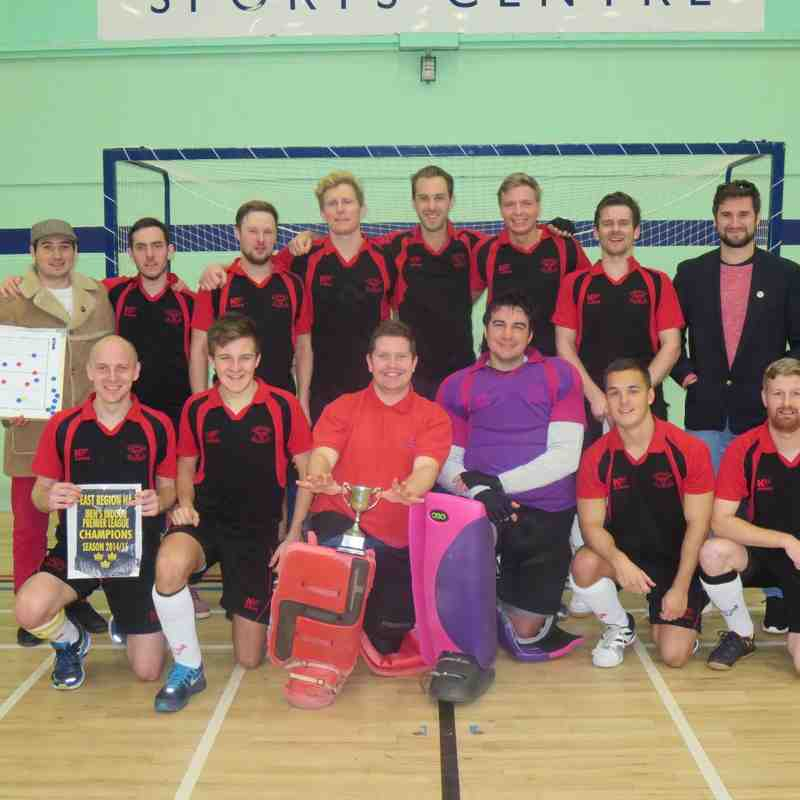 East Indoor Premier League Champions