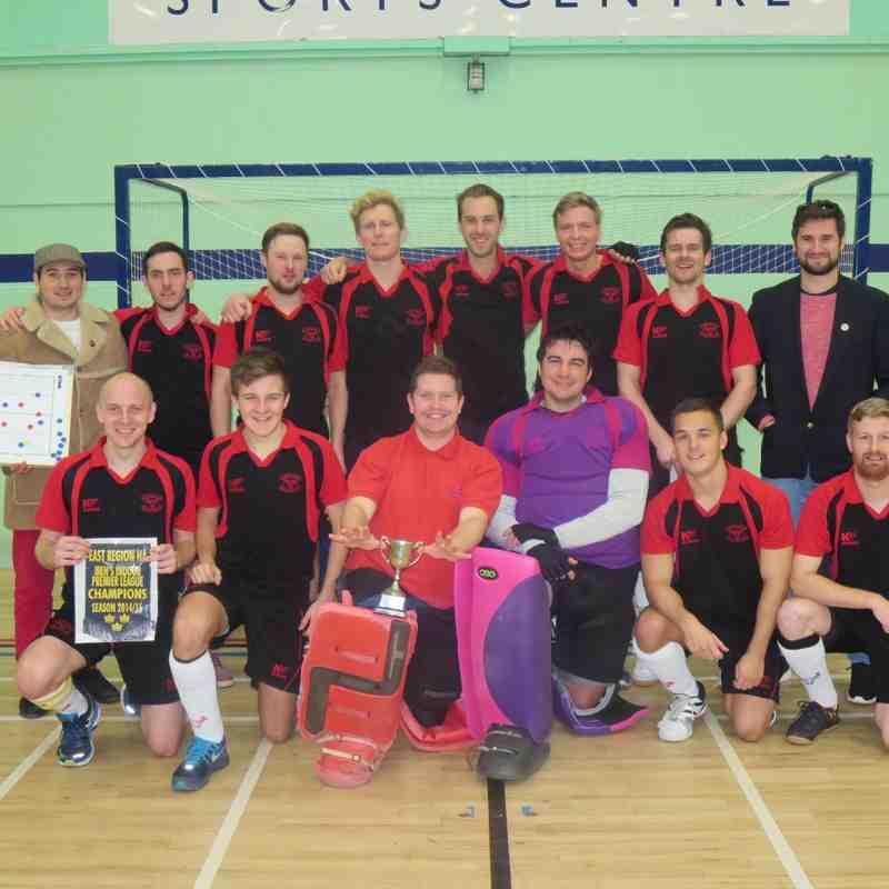 East Indoor Premier League Champions