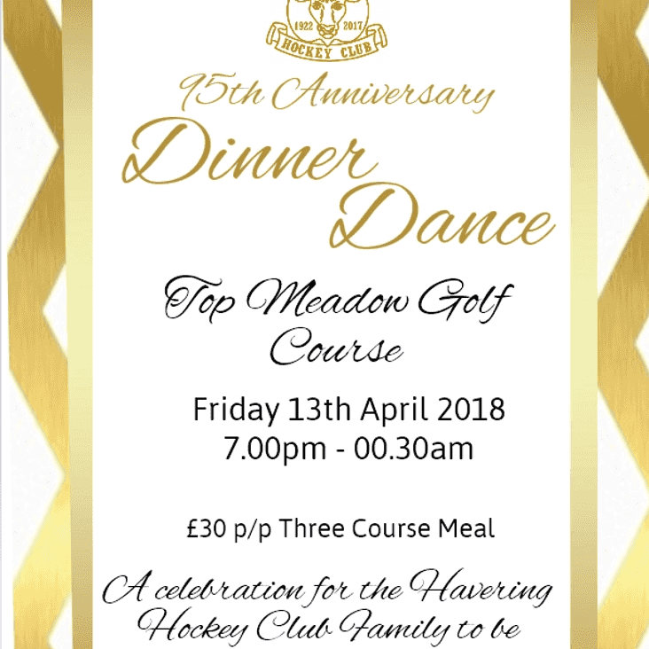 Dinner & Dance Update (Meal Choices)