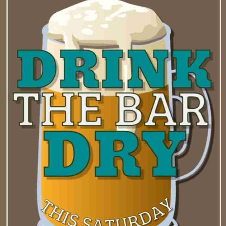 Drink the Bar Dry - 16/02/2019