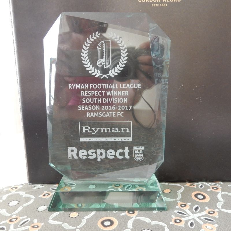 19 Jun: Ramsgate win  Respect Award