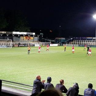15 Aug: Cray Wanderers 2 Ramsgate 1