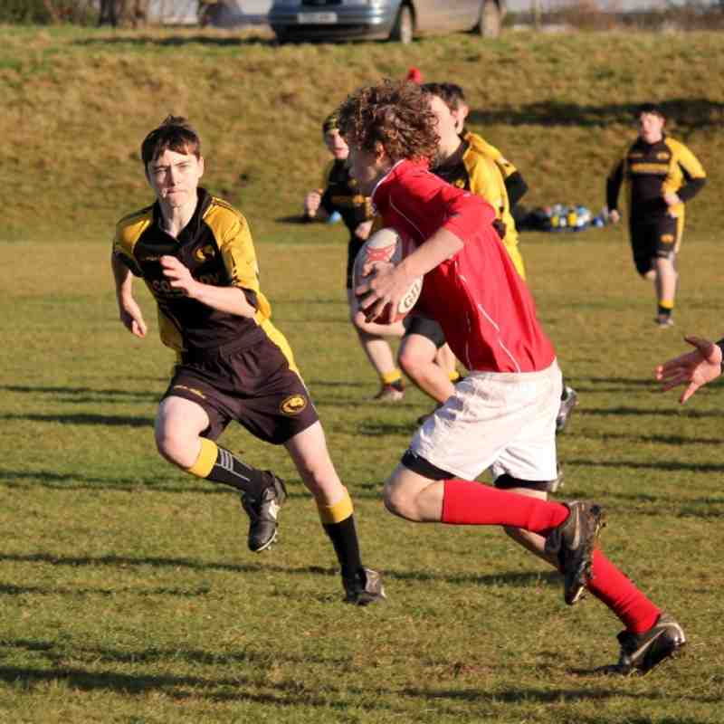 Whitchurch U14 v Northwich Nov 2012
