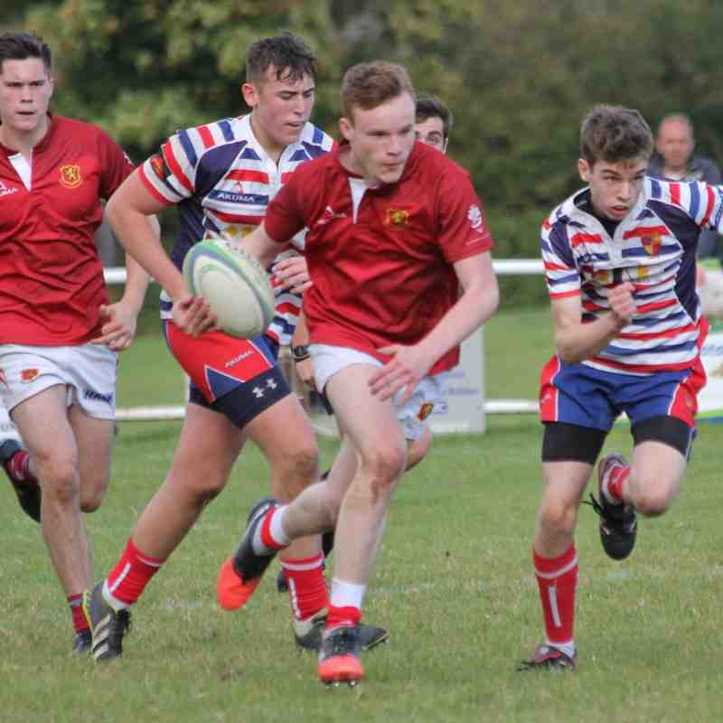 Whitchurch Senior Colts V Birkenhead 16.10.16