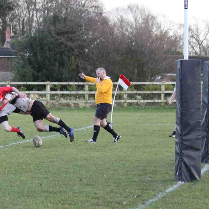 Whitchurch 3rd XV  vs Crewe and Nantwich 3rd