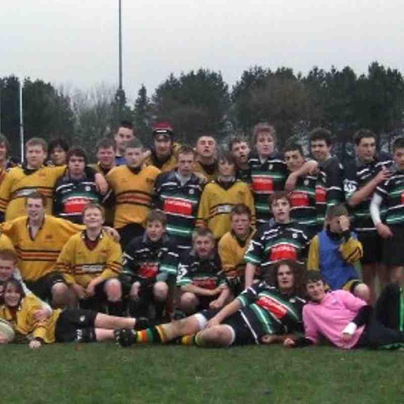 U15's Durham tour 09