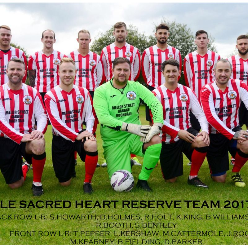 Rochdale Sacred Heart Reserve Team beat Stockport Georgians Reserves 2 - 7