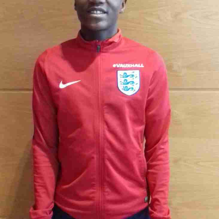 Levi Laing - Former Hampton Youth player represents England