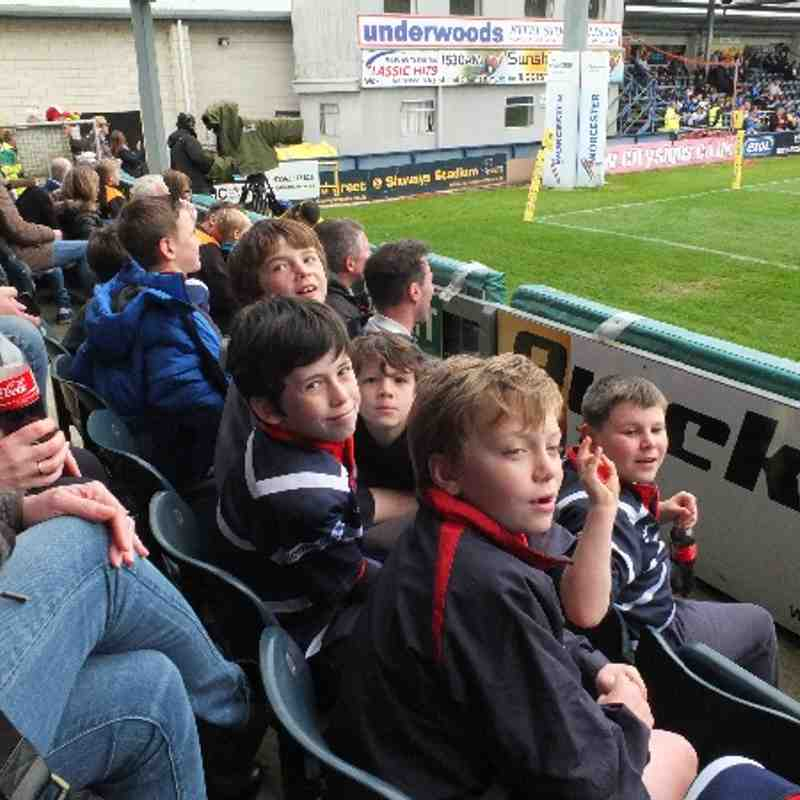 Worcester Warriors, Sixways - Stourbridge Under 9s