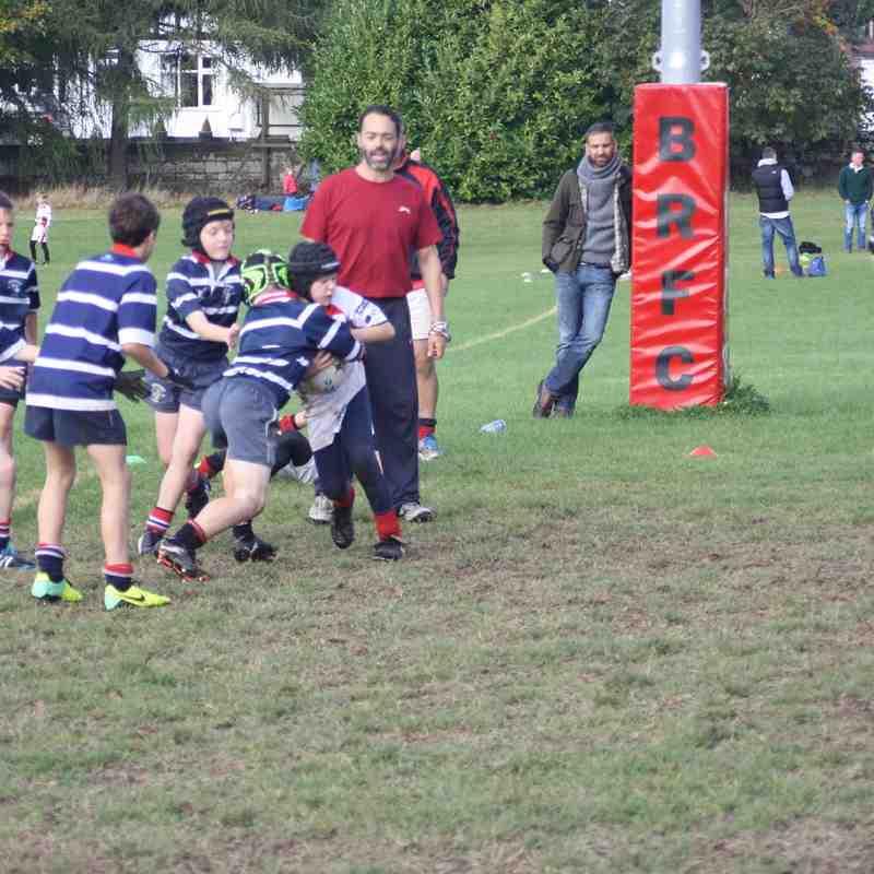 Bromsgrove v Stourbridge Under 10s, 12 October 2014