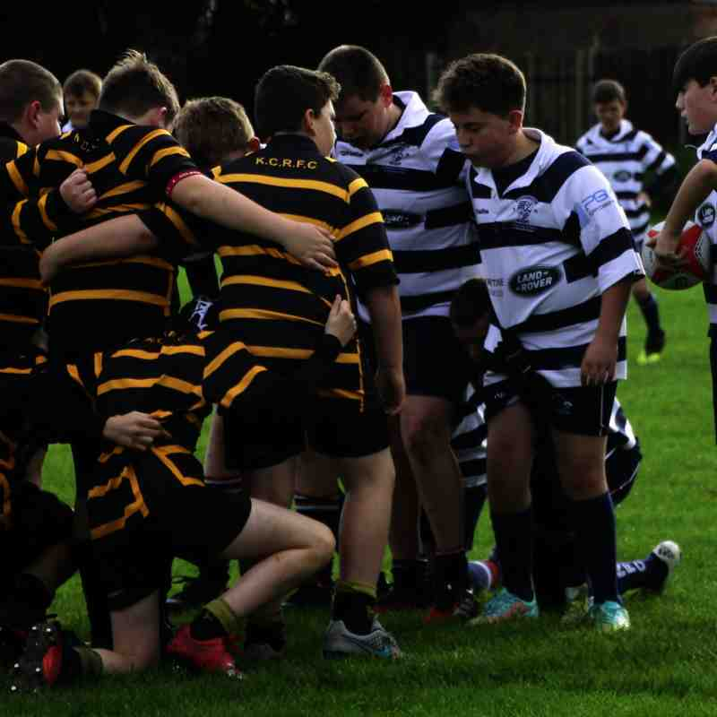 Stourbridge RFC Under 12s v Kidderminster - Sunday 16 October 2016