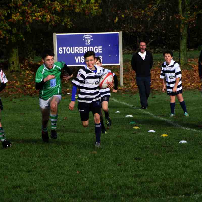Stourbridge Under 12s v Sutton, Sunday 13 November 2016