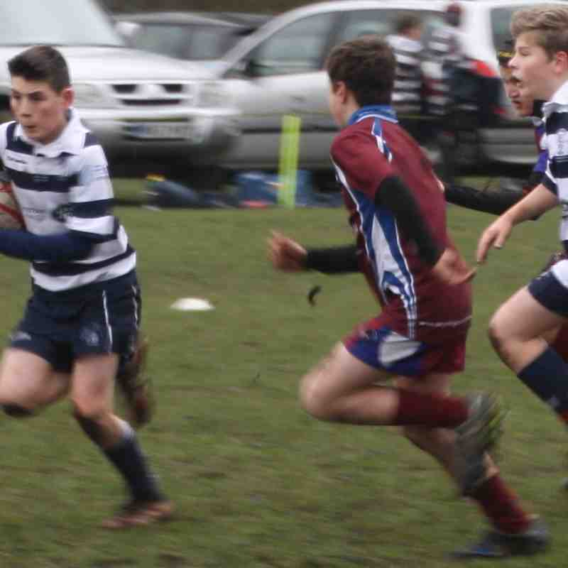 SRFC Under 12s v Sills, Sunday 12 February 2017