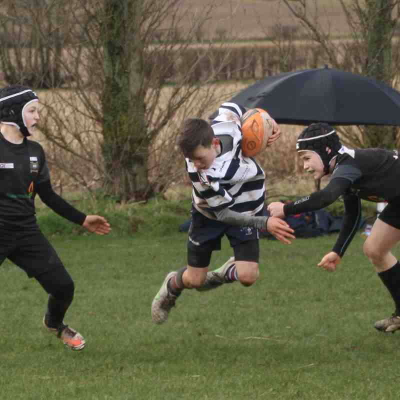 SRFC Under 12s v Bridgnorth, Sunday 5 March 2017