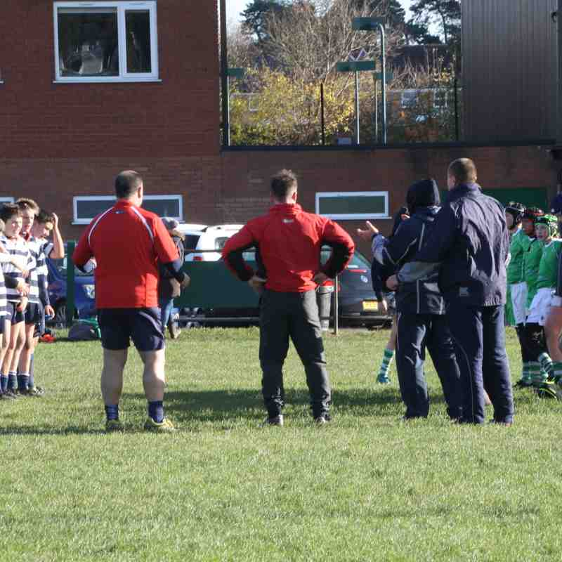 Sutton v SRFC Under 13s, Sunday 12 November 2017